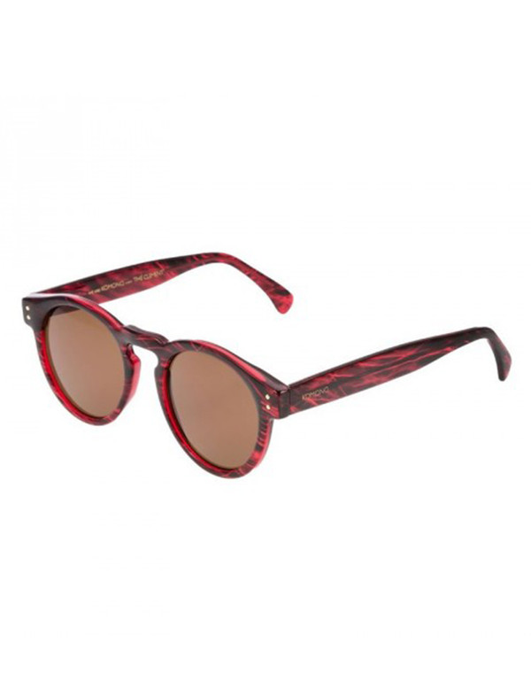 Komono Clement Sunglasses Beetroot