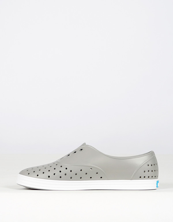 Native Shoes Native Jericho Pigeon Grey Shell White
