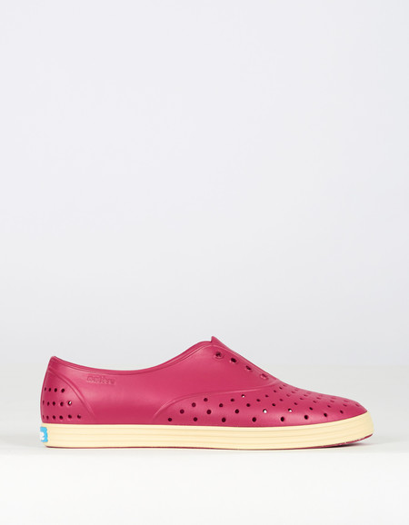 Native Shoes Native Jericho Raspberry Red Bone White
