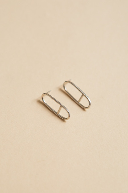 Seaworthy Horizon Earrings / Silver