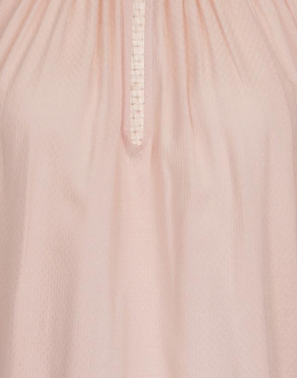 Corey - 'Elisa' Pink Poet Blouse