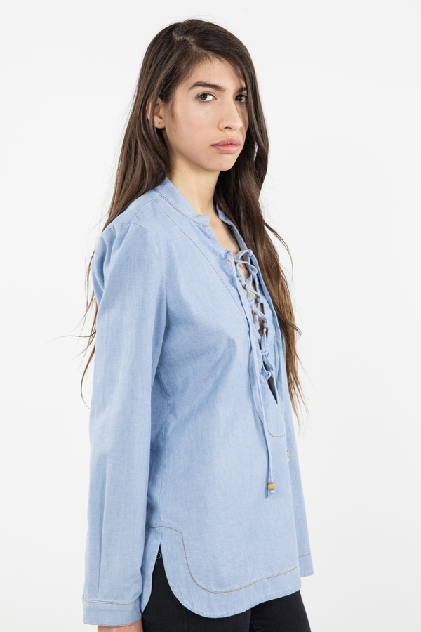 Bec & Bridge Talisman Shirt - Bleached