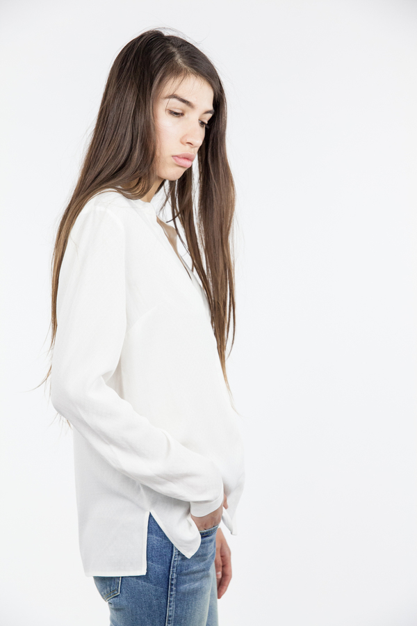 Just Female Shary Shirt - White