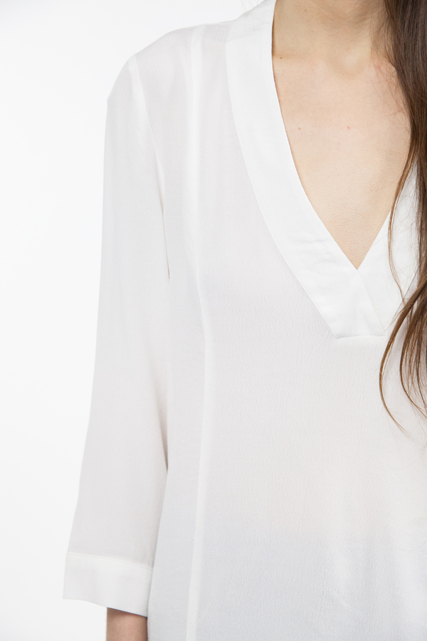 Just Female Lola Blouse - White