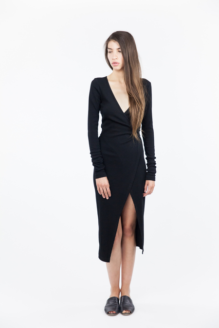 Bec & Bridge Fawcett Long Sleeve Wrap Dress