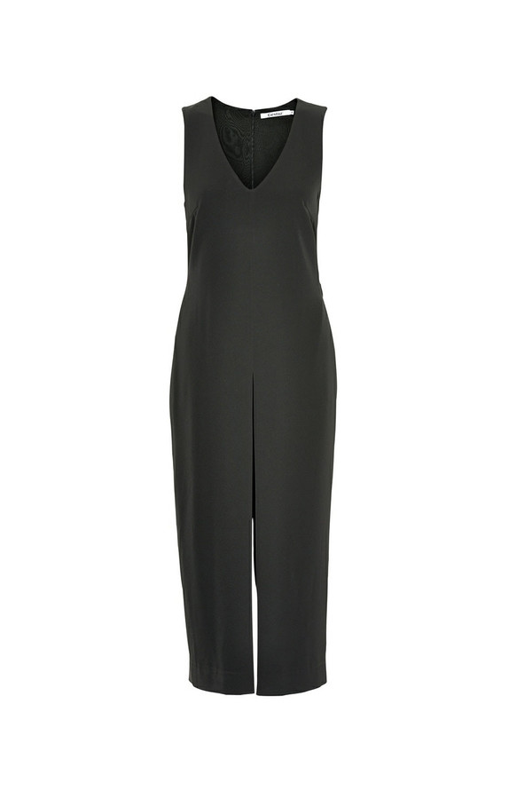 Gestuz - Adie Black Sleeveless Culotte Jumpsuit