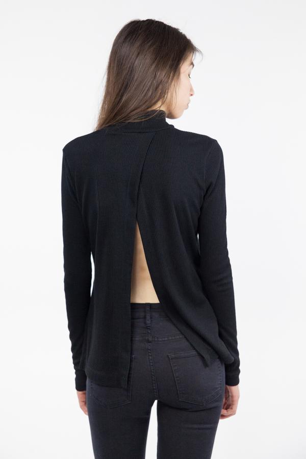 Bec & Bridge Fawcett Long Sleeve Top - Black