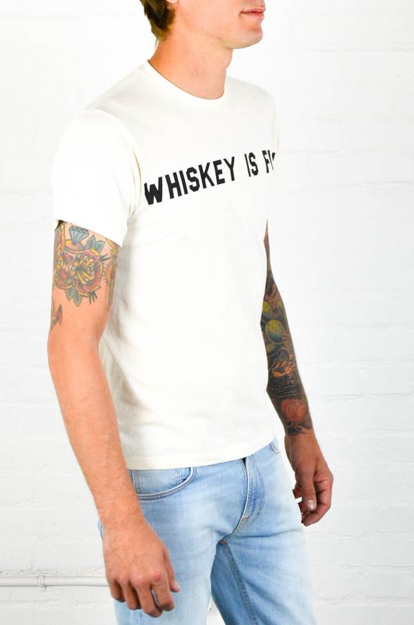Men's 18 Waits 'Whiskey Is Fun' Tee