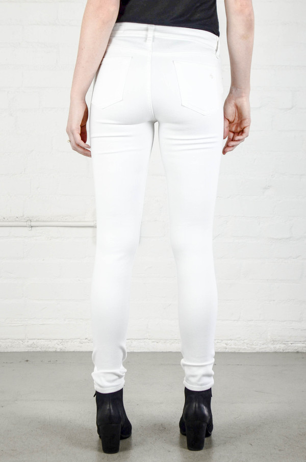 Rag & Bone Skinny in Bright White