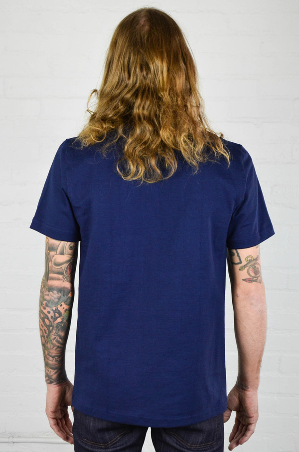 Men's Welcome Stranger Navy 8 oz Bison Tee