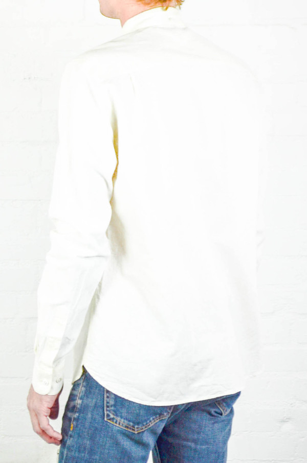 Men's YMC Cream Harajuku Shirt
