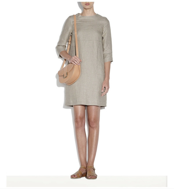 A.P.C. Beige Baba Dress