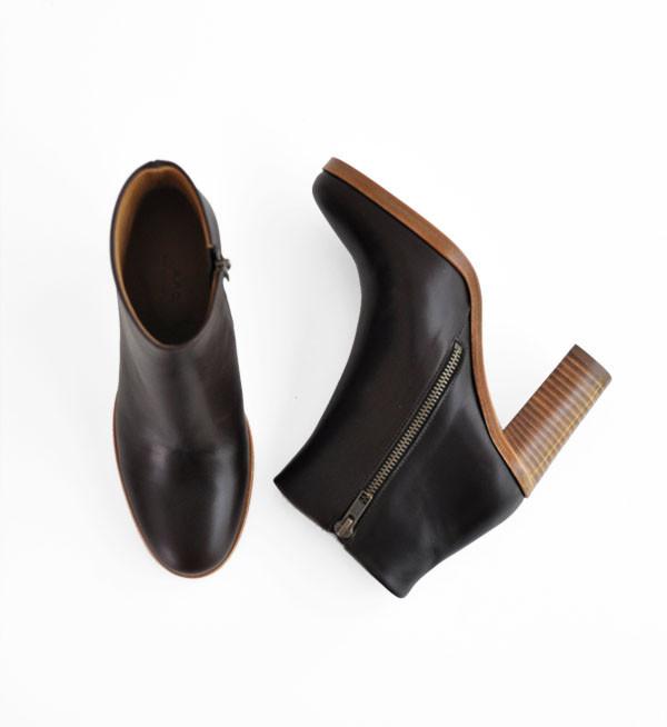A.P.C. Dark Brown Rachel Boot