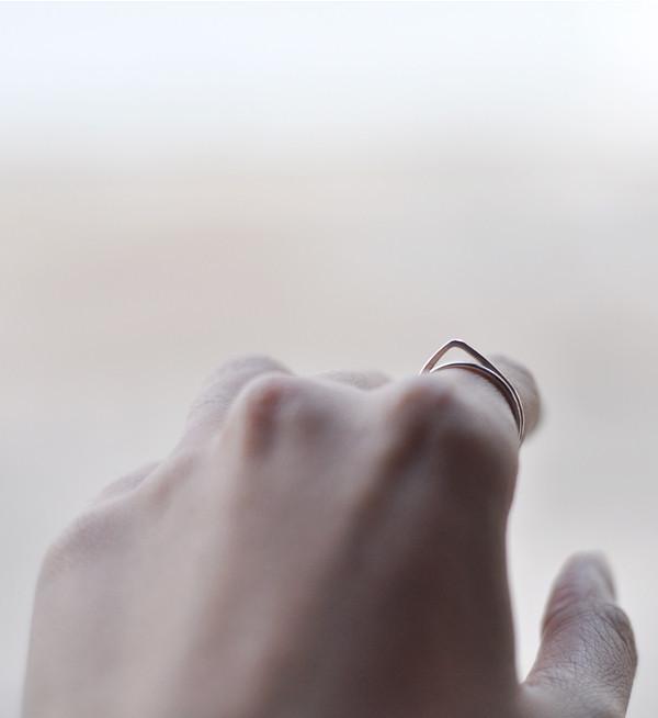 Fay Andrada Brass Pien Oka Ring