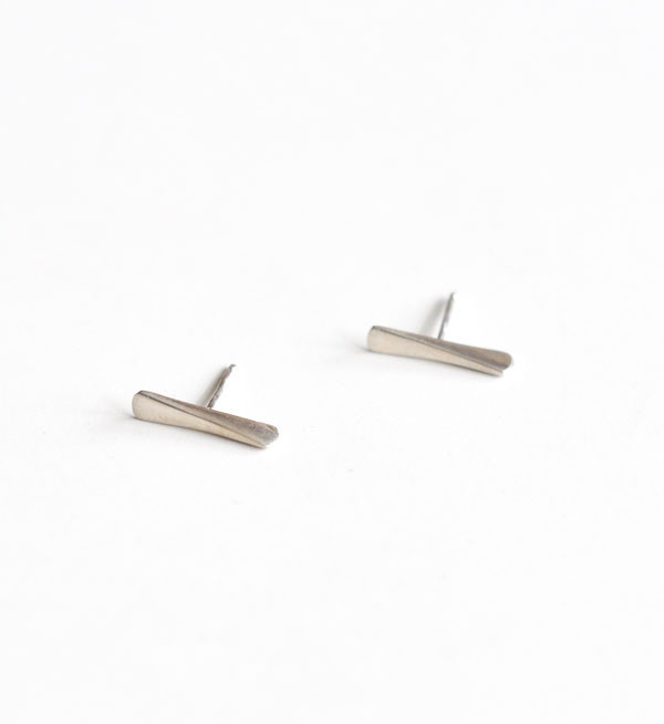 Fay Andrada Silver Kiila Stud Earrings