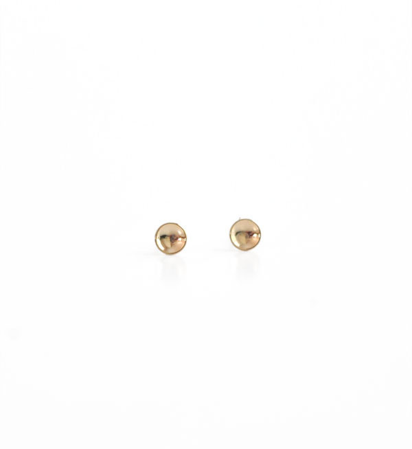 Kristen Elspeth Gold Basin Medium Studs