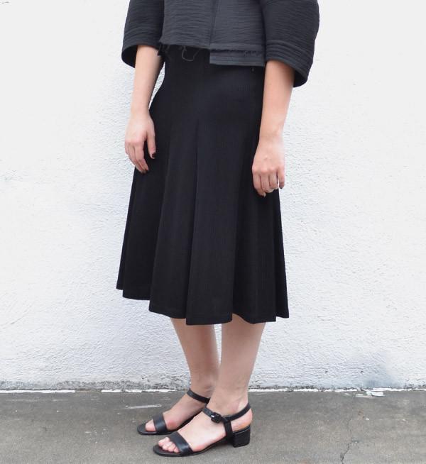 Maryam Nassir Zadeh Black Texture Sophie Sandal