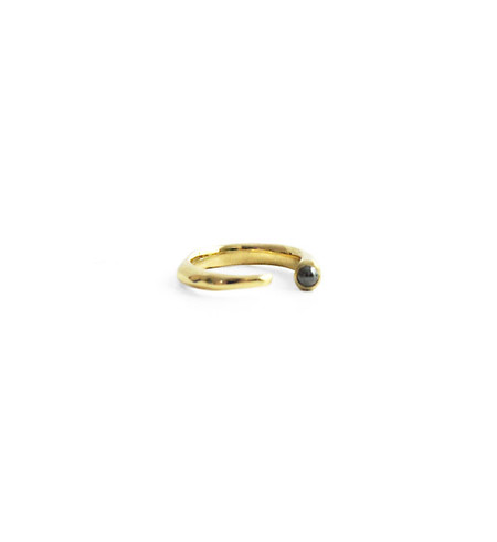 Odette New York Odette Hematite Metis Ring