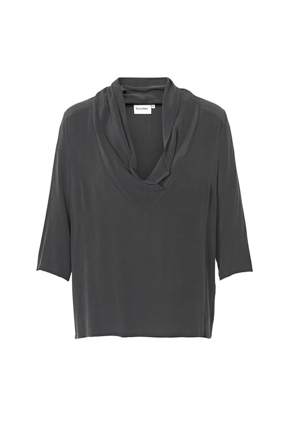 Gestuz - Corin Top Black Silk