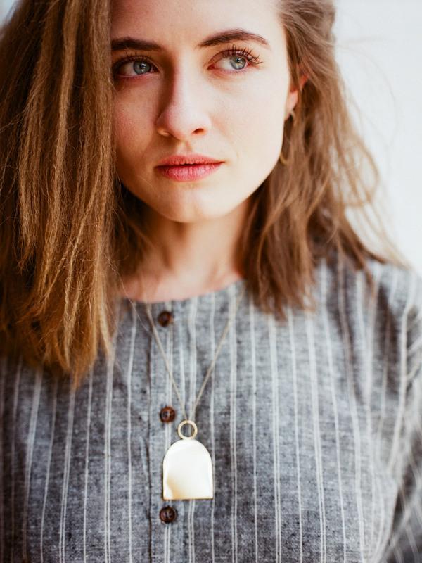 Young Frankk Knocker Necklace