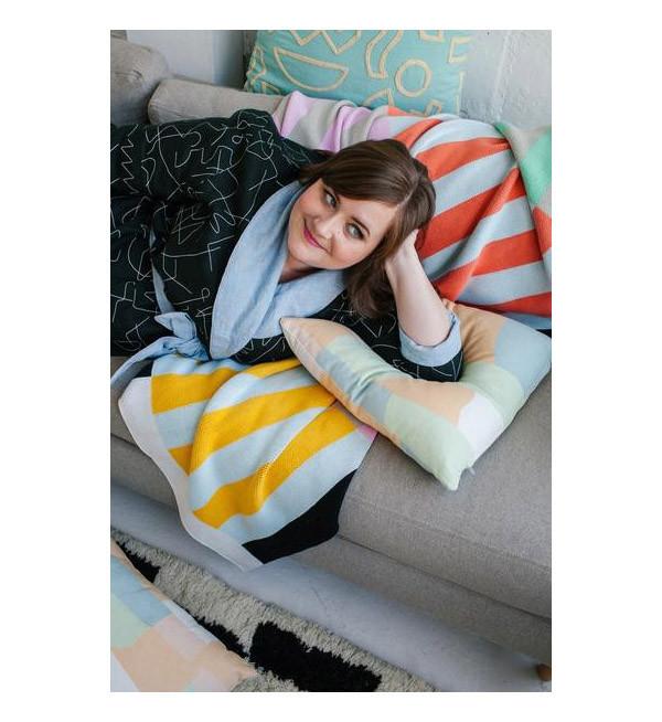 Dusen Dusen Stripes Throw Blanket
