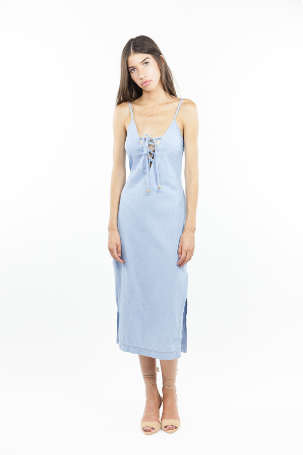 Bec & Bridge Tailsman Dress - Bleached