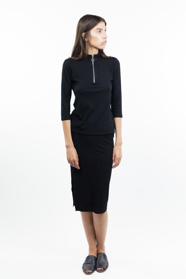 Just Female Rainy Skirt - Black