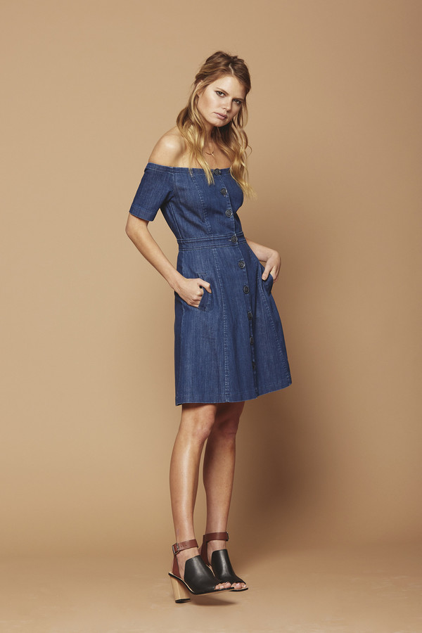 Cosette Clothing Clarisse Denim Dress