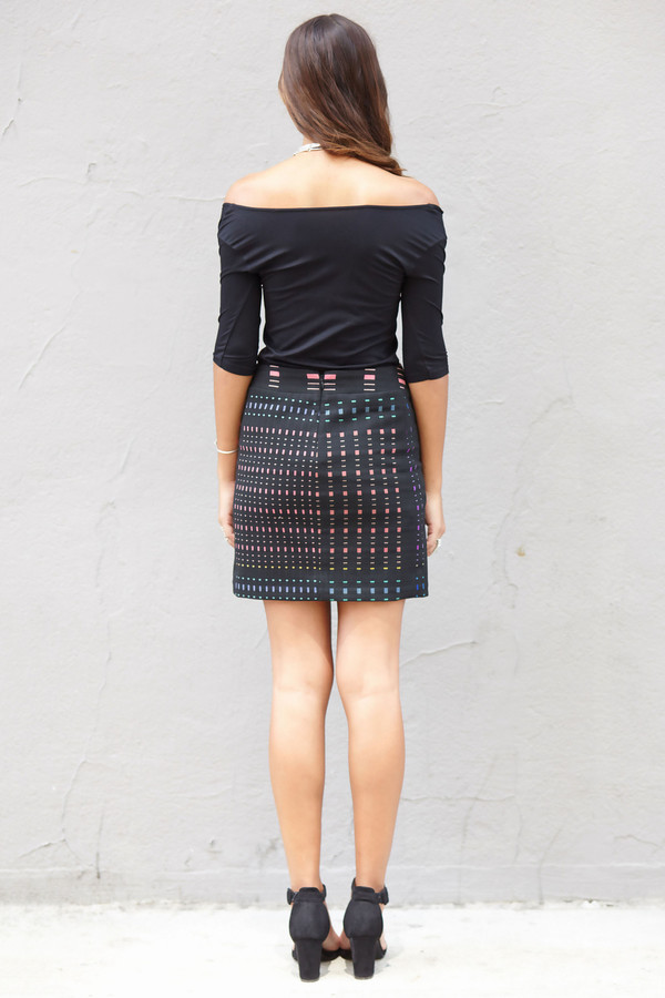 Nicole Miller Mutli Mini Skirt