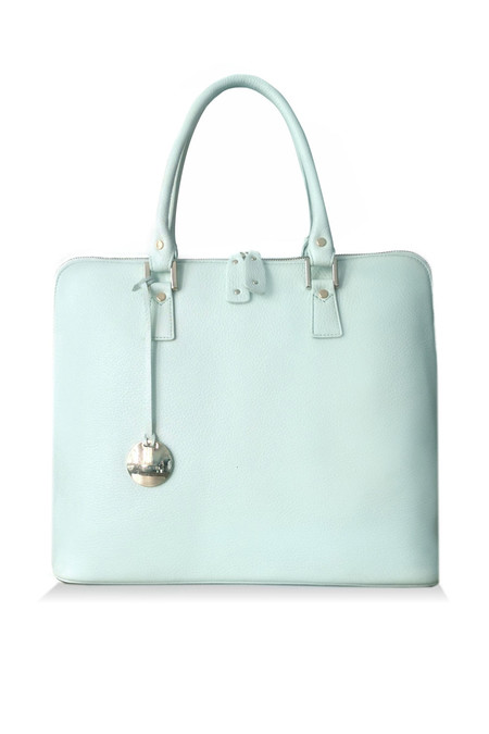 Ella Valentine - Isabel Shoulder Bag Pistachio Leather Atelier Edition