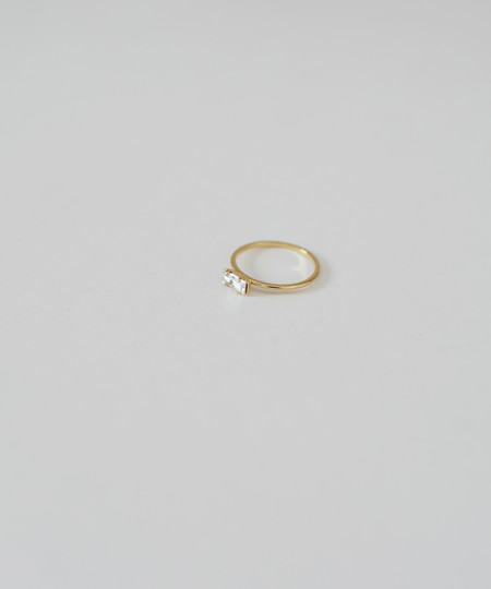 Bing Bang NYC Bing Bang Tiny Baguette Ring