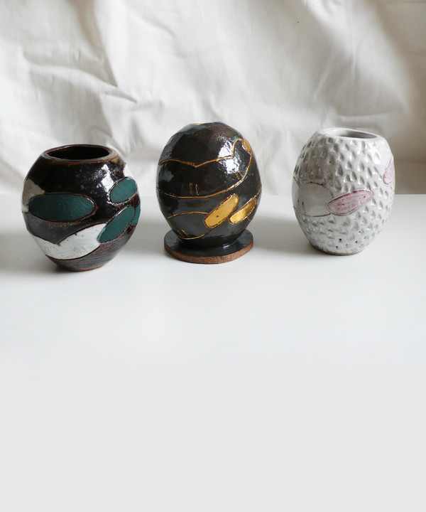BZippy Disco Egg Vase