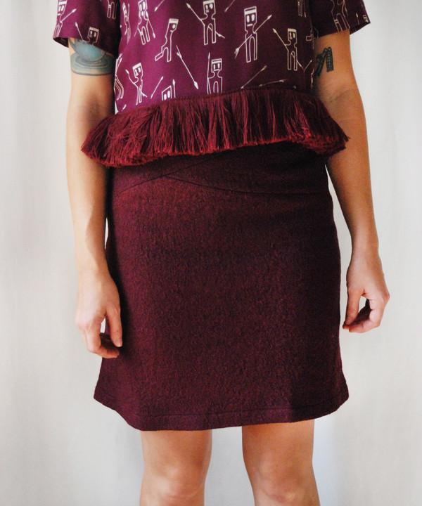 Delfina Balda Musa Fitted Skirt