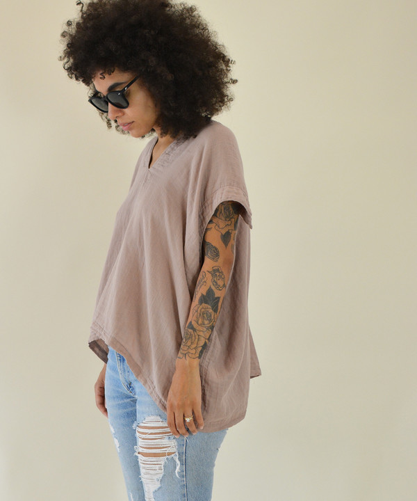 Delphine Dusty Coral Celest Top