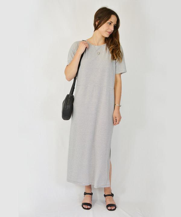 Lacausa Striped Lounge Dress