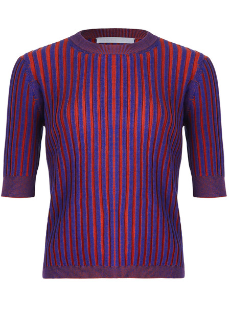Suzanne Rae Plaited Rib Top