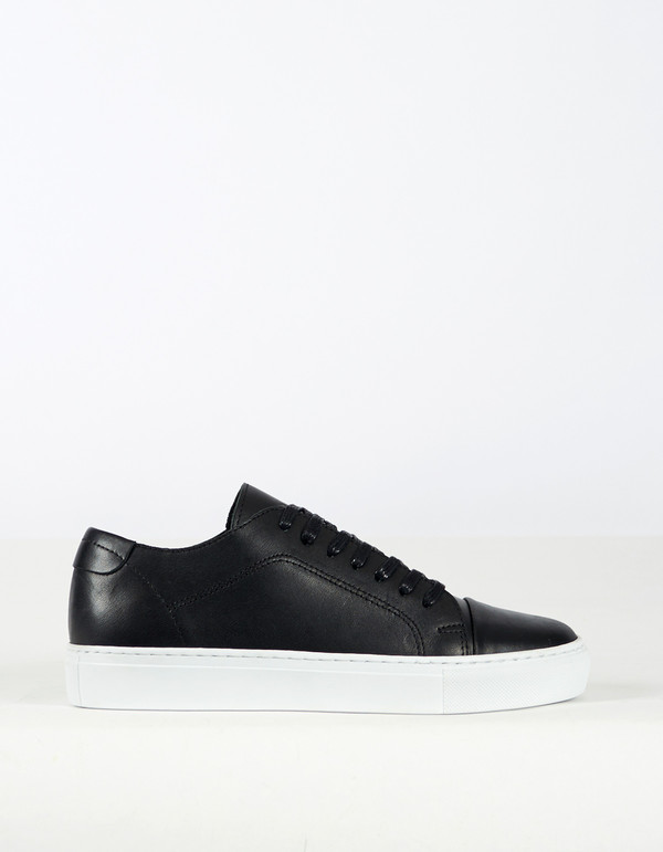 Men's Garment Project Classic Lace Sneaker Black