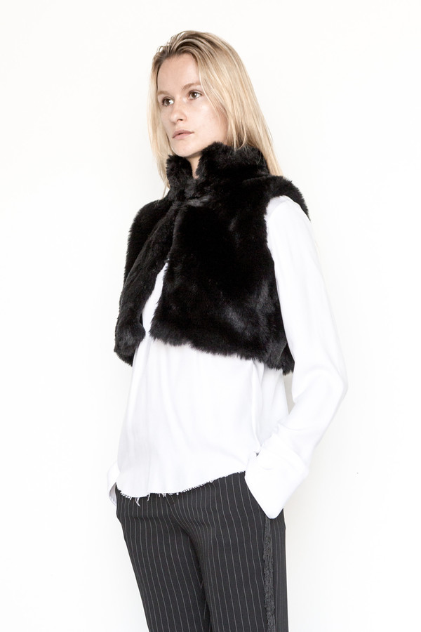 Assembly New York Faux Fur Vest