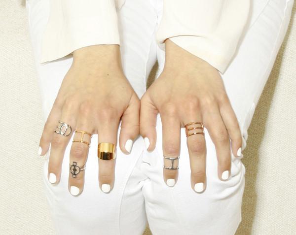 ALYNNE LAVIGNE - Tri-Line Ring