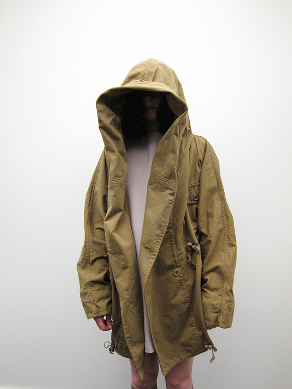 Katsuragi Ring Coat, Khaki Gold