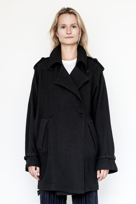 Assembly New York Wool/Linen Oslo Baggy Trench