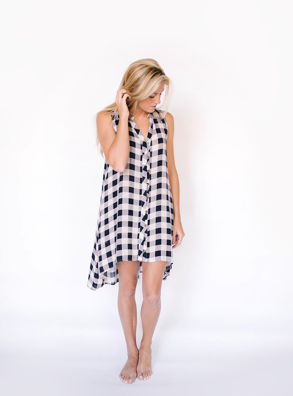 Jodifl Checkered Tunic