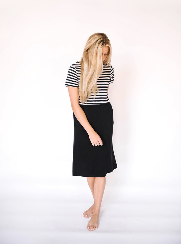 Hailey & Co Striped Pocket Dress