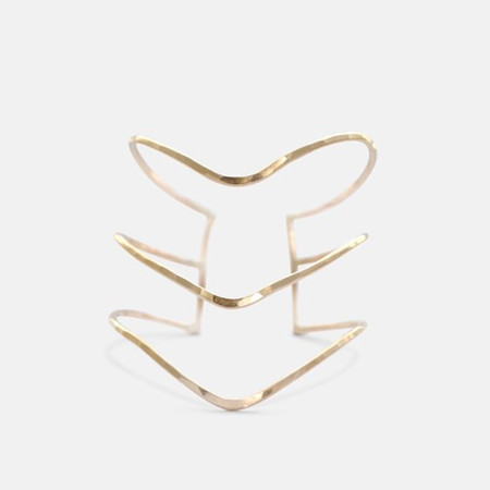 Amy Nordstrom Gold Nave Cuff
