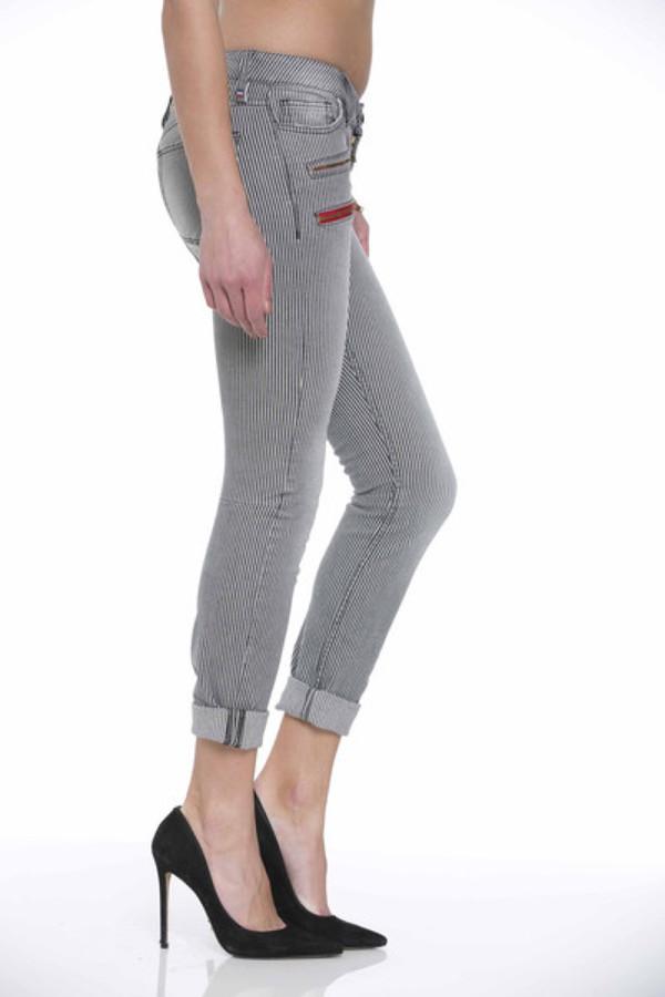Etienne Marcel Pinstripe Jeans