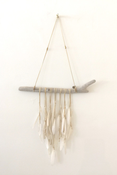 White Feather Dreamcatcher