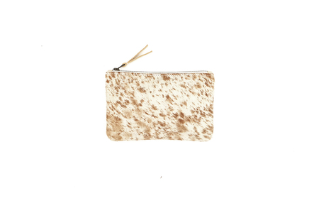 Primecut CARAMEL SPECKLED MEDIUM POUCH