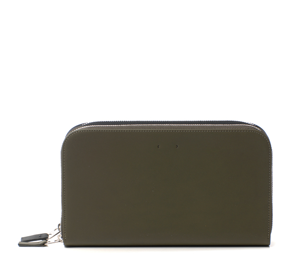 PB 0110 CM4 Black and Olive Wallet