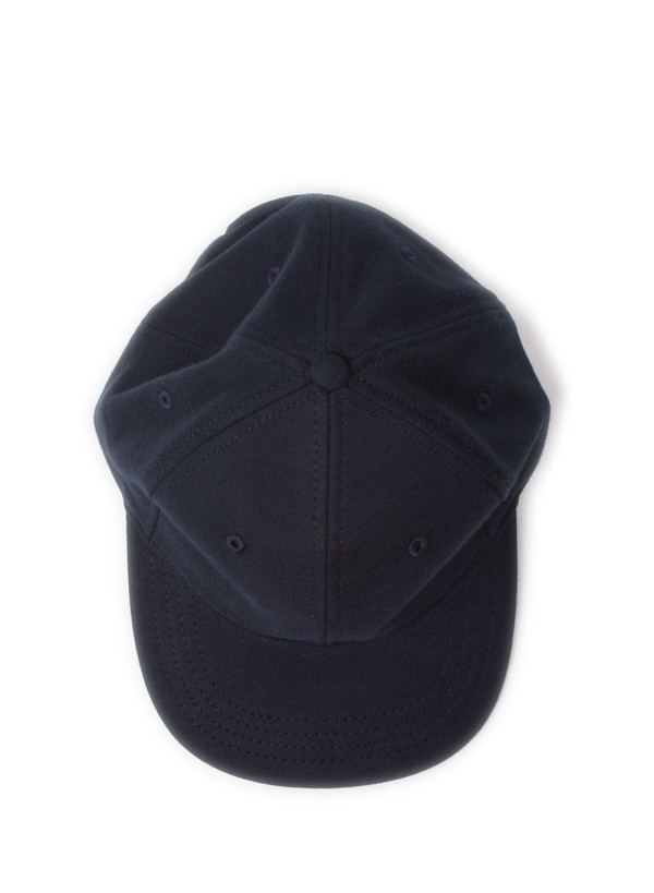Knit Midweight Terry 6-Panel Hat Navy