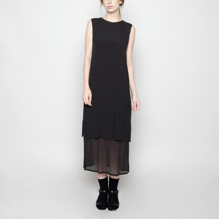 7115 by Szeki Sleeveless Layered Dress FW16